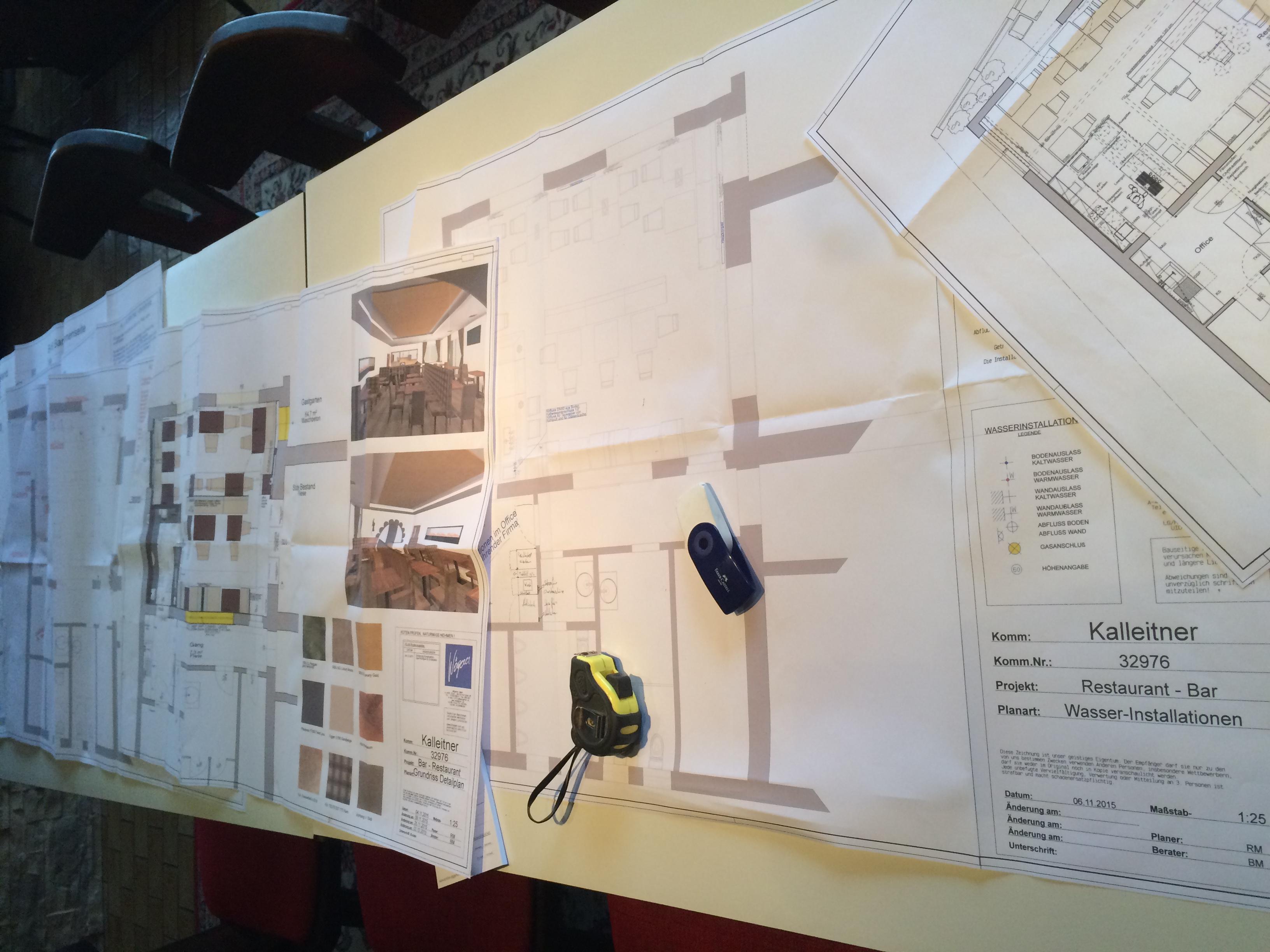 Die Pläne für den Umbau der Bachtaverne