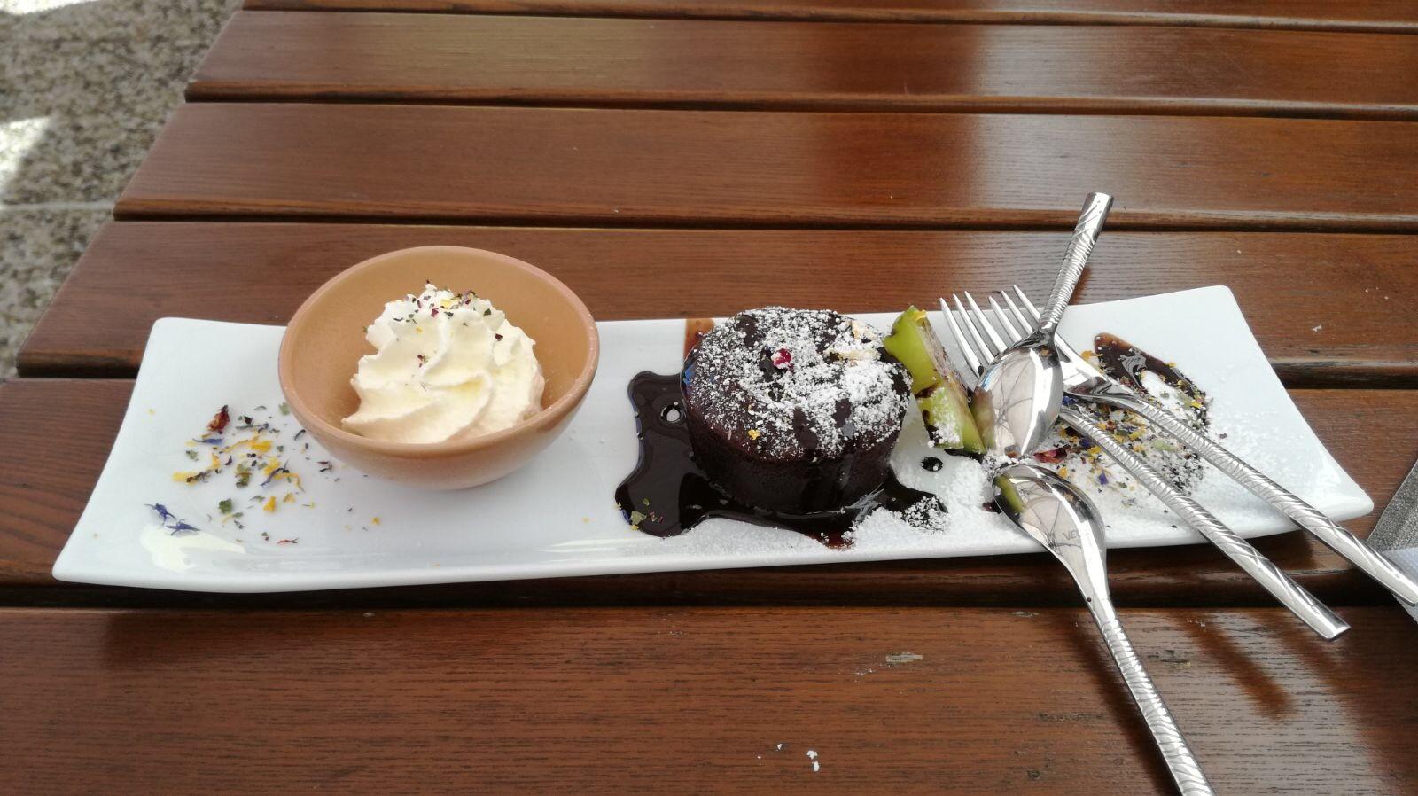 Restaurant Bachtaverne Attersee Aug 2017 - Vukankuchen
