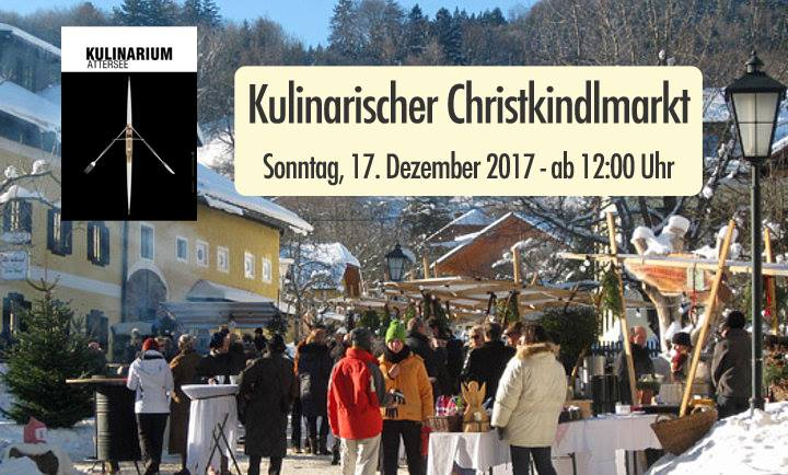 Kulinarischer Advent 2017 in Nussdorf am Attersee
